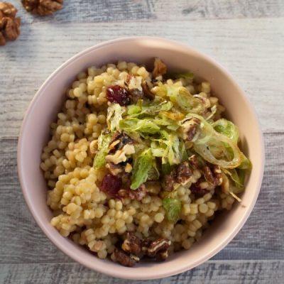 Vegan Cherry and Leek Couscous recipe - step 3