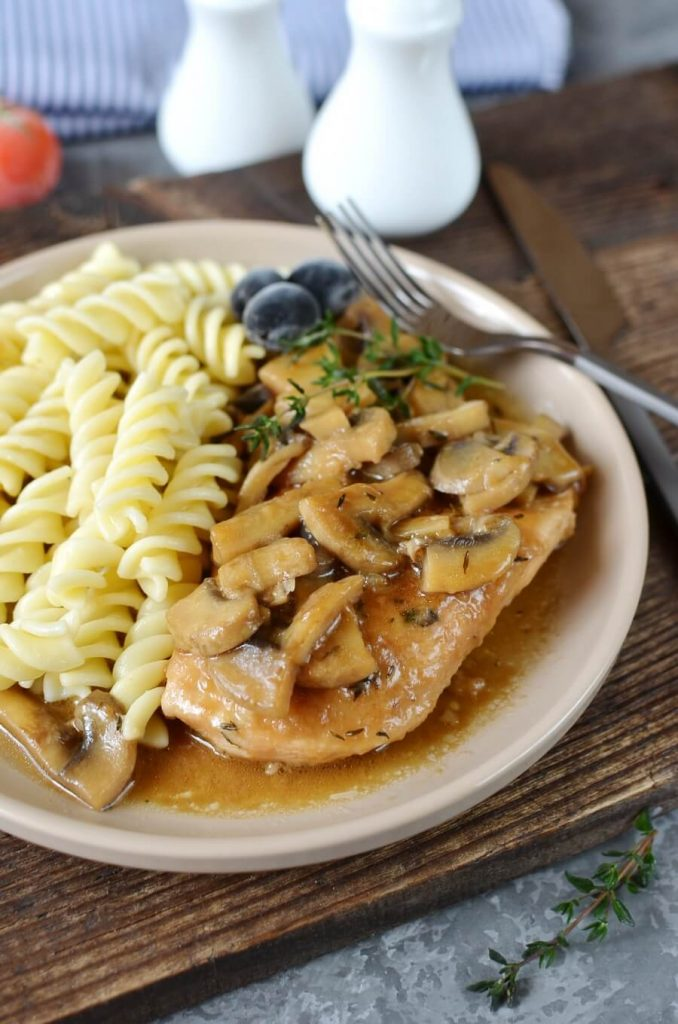 Chicken with a taste of Italy