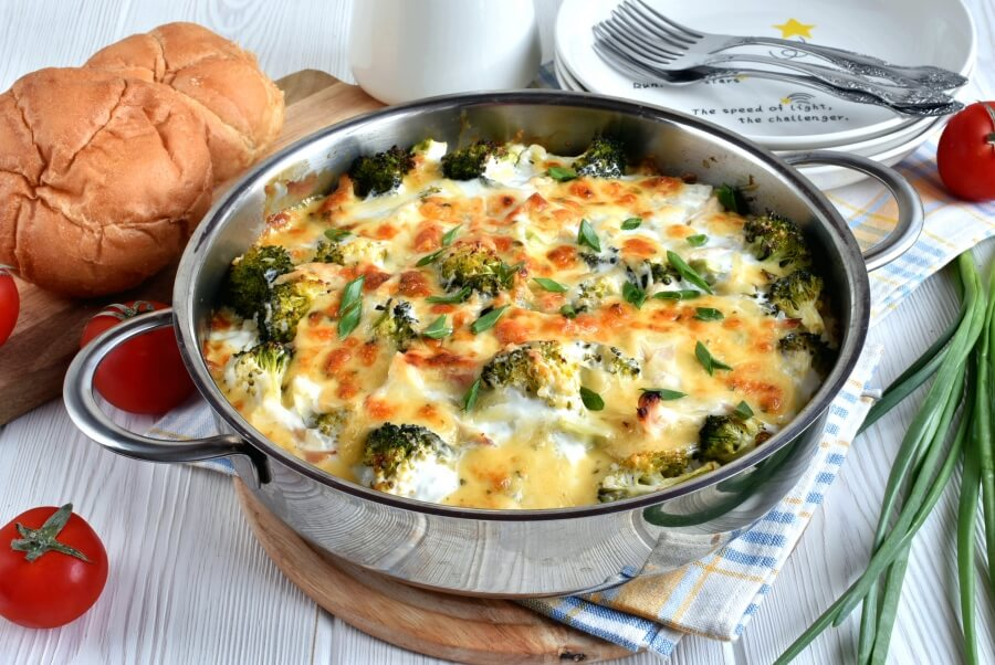 How to serve Chicken and Rice Casserole