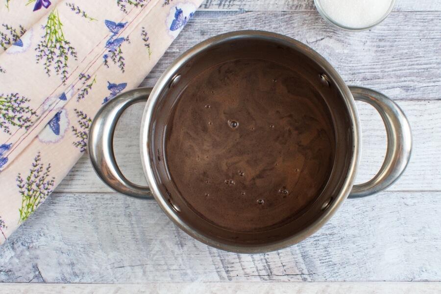 Vegan Chocolate Cherry Sorbet recipe - step 2