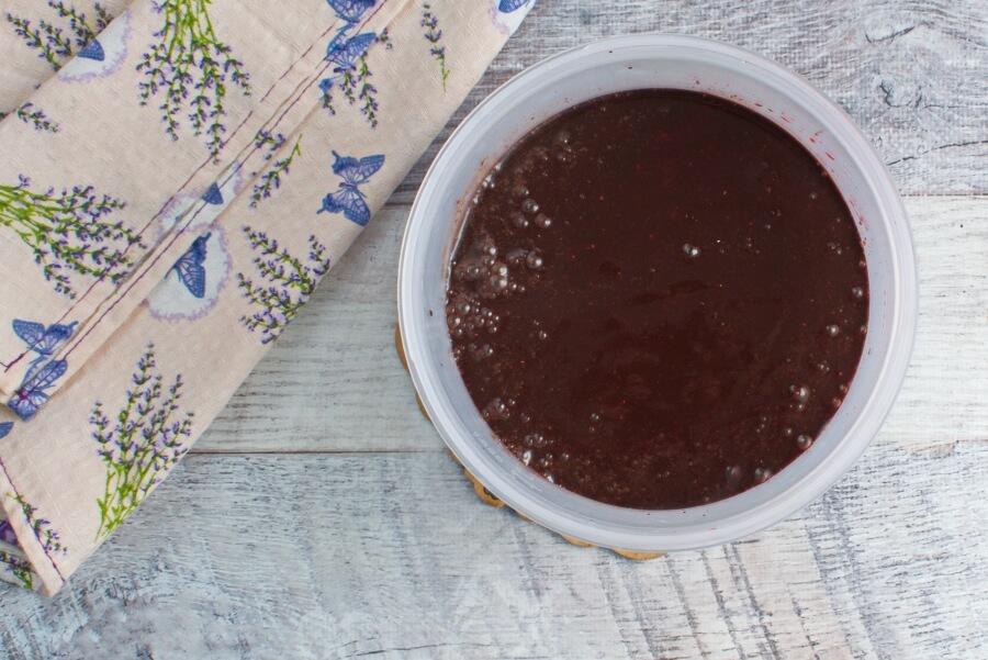 Vegan Chocolate Cherry Sorbet recipe - step 4