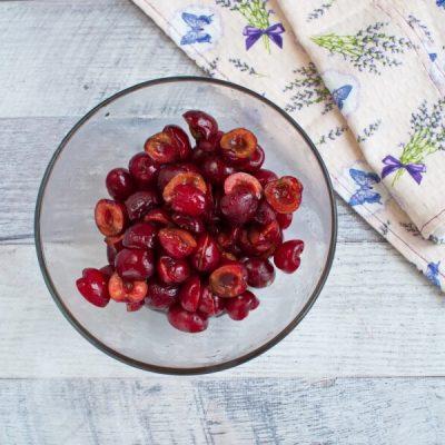 Vegan Chocolate Cherry Sorbet recipe - step 5