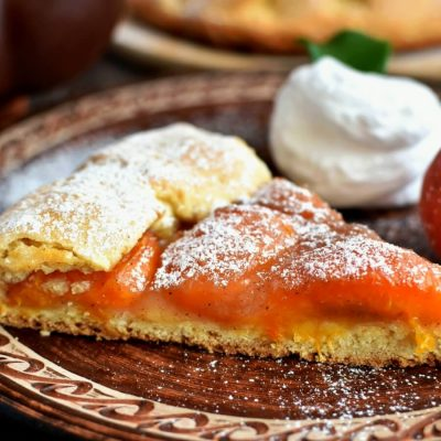 Country Apricot Tart Recipe-How To Make Country Apricot Tart-Delicious Country Apricot Tart