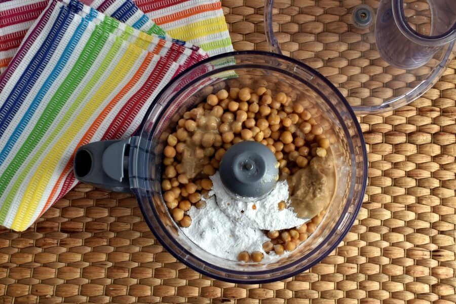 Vegan Dark Chocolate Hummus recipe - step 1