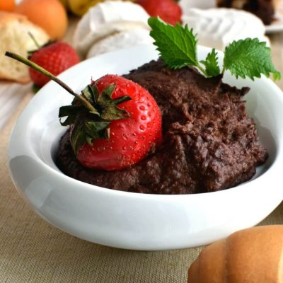 Dark Chocolate Hummus Recipe-How To Make Dark Chocolate Hummus-Delicious Dark Chocolate Hummus