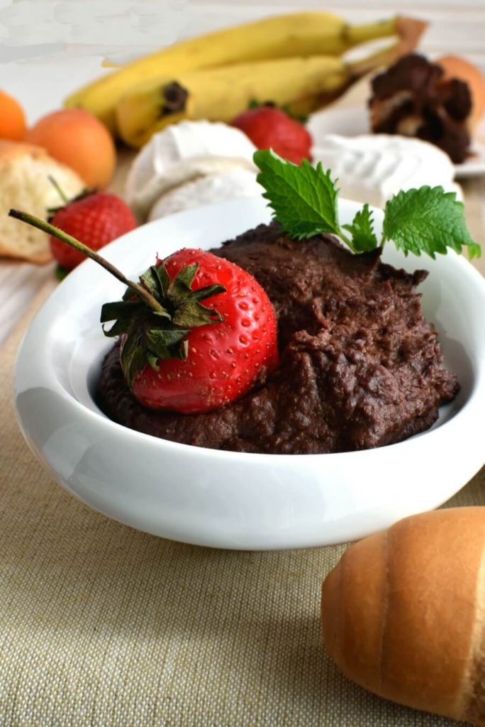 Dark Chocolate and Hummus is the Perfect Combination