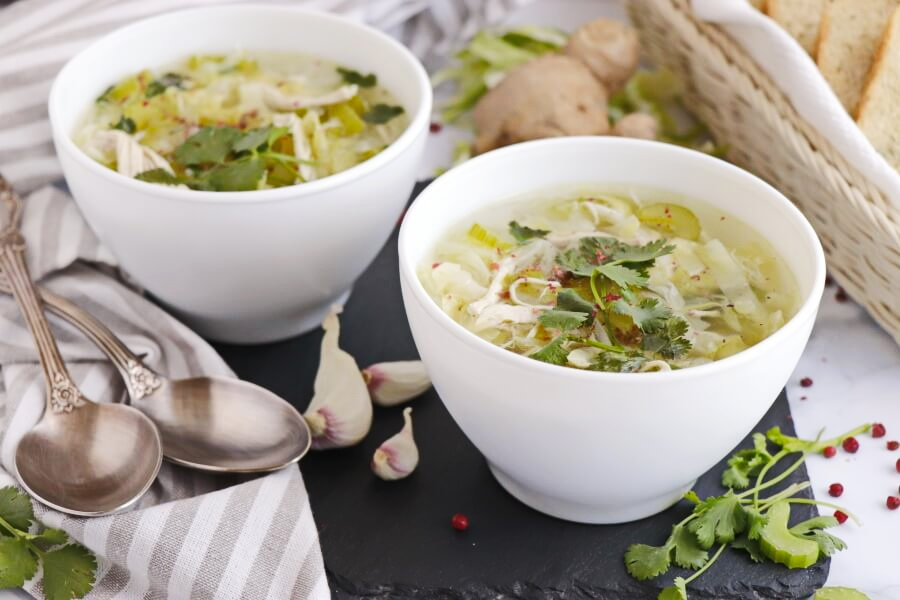 Detox Cabbage Soup Recipe-Spicy Cabbage Detox Soup-How to Make Detox Cabbage Soup