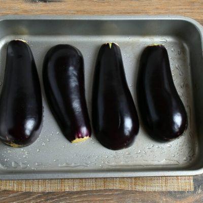Vegetarian Falafel-Stuffed Eggplant recipe - step 3