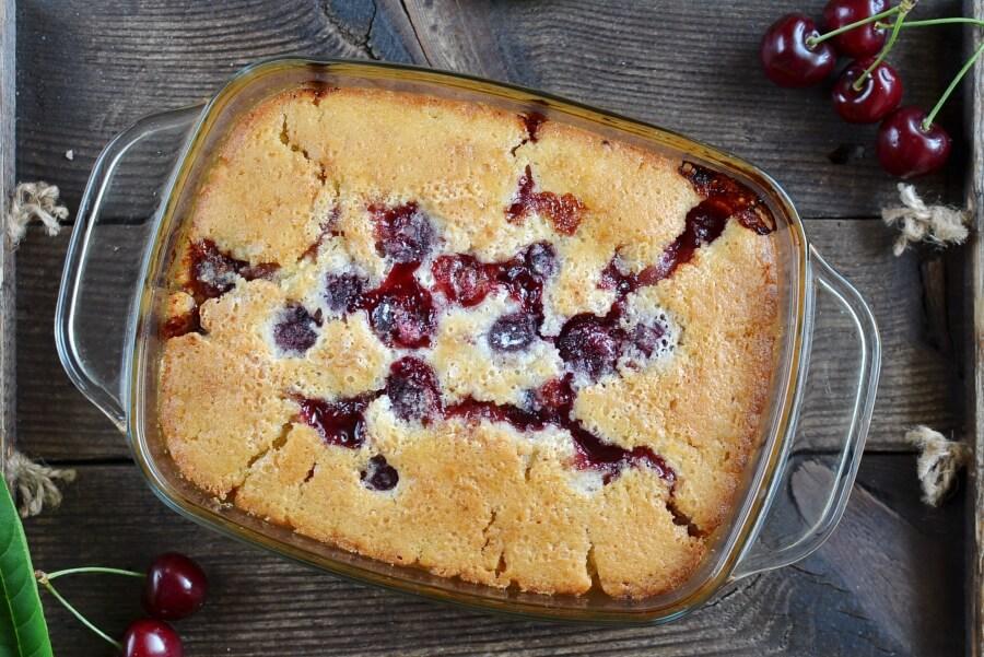 Fresh Cherry Cobbler recipe - step 8