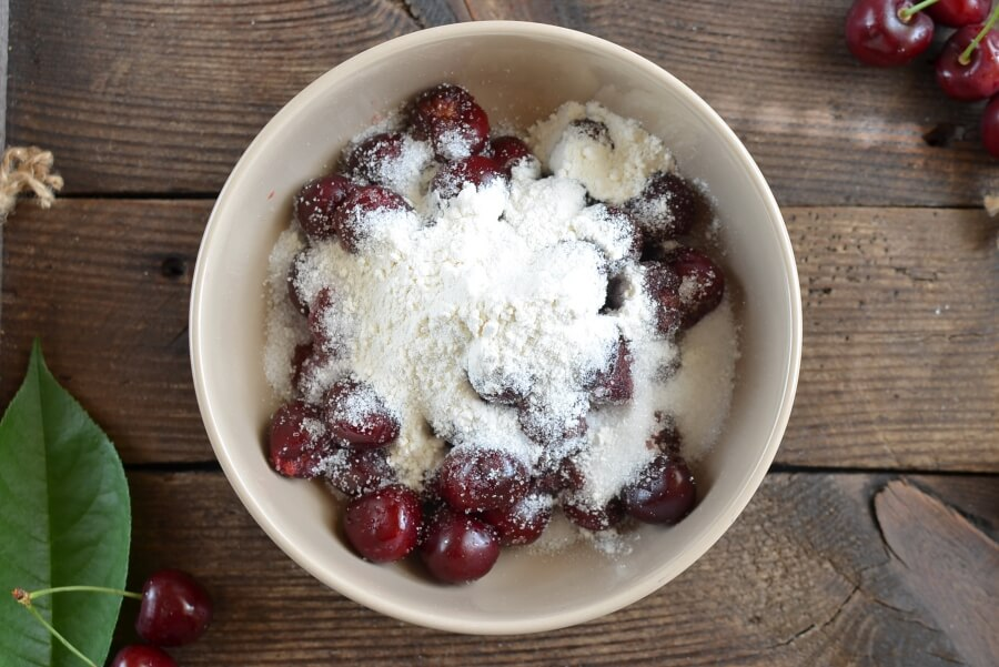 Fresh Cherry Cobbler recipe - step 6
