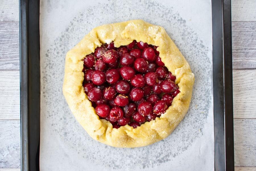 Fresh Cherry Galette recipe - step 6