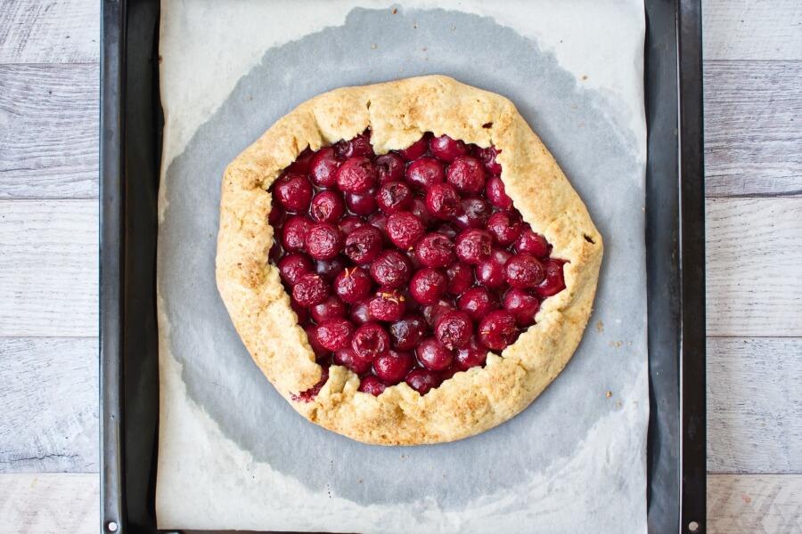 Fresh Cherry Galette recipe - step 7