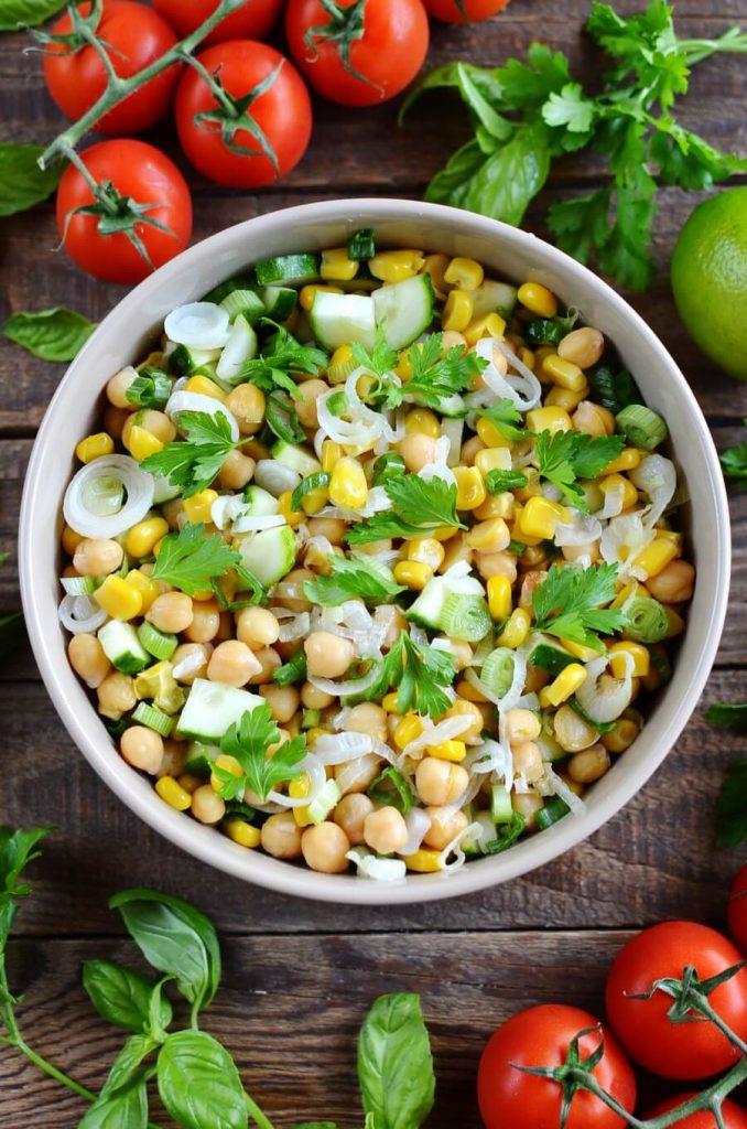 A crisp, fresh picnic salad