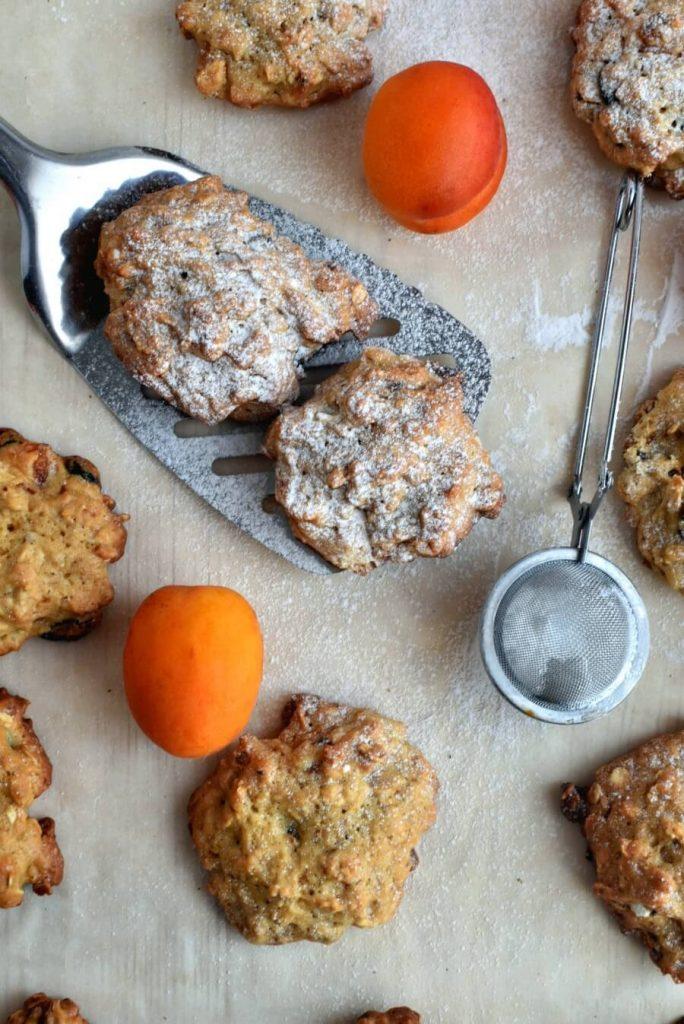 Healthy Fruited Oatmeal Cookies
