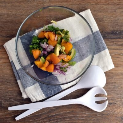 Grilled Ancho Chicken Breasts with Apricot Salsa recipe - step 6