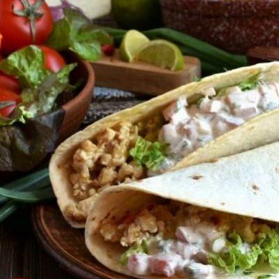 Ground Chicken Tacos with Creamy Salsa Recipe-How To Ground Chicken Tacos with Creamy Salsa-Delicious Ground Chicken Tacos with Creamy Salsa