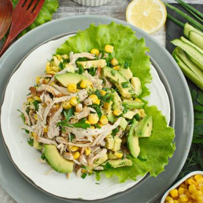Healthy Avocado Chicken Salad recipe-How to make Avocado Chicken Salad-Avocado Chicken Salad Recipe1