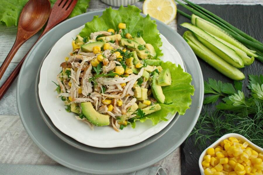 How to serve Healthy Avocado Chicken Salad