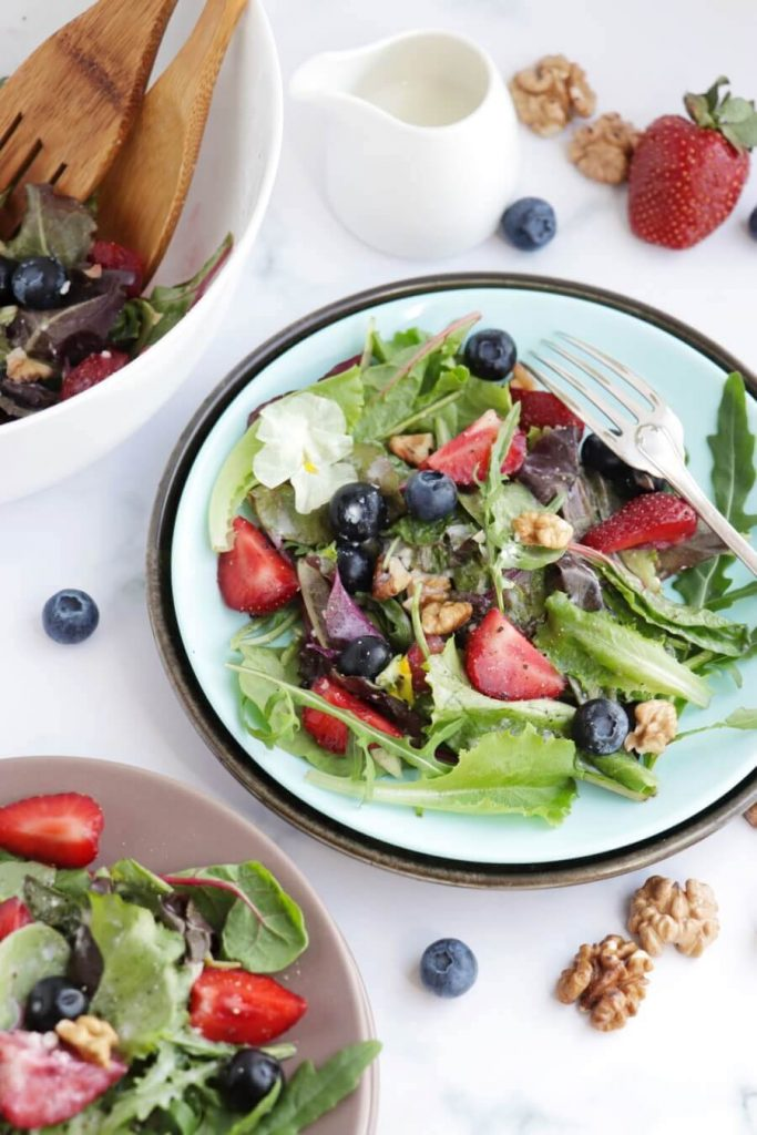 Sweet and Nutty Salad