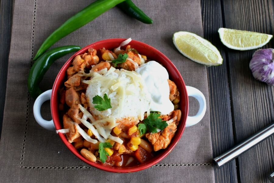 How to serve Gluten Free Hearty Chicken Chili with White Beans
