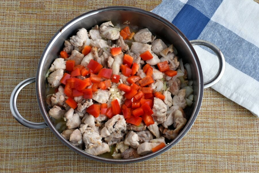 Gluten Free Hearty Chicken Chili with White Beans recipe - step 3