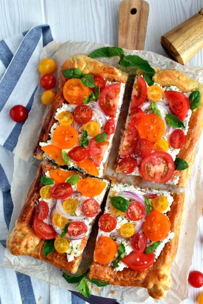 Delicious Tomato Tart