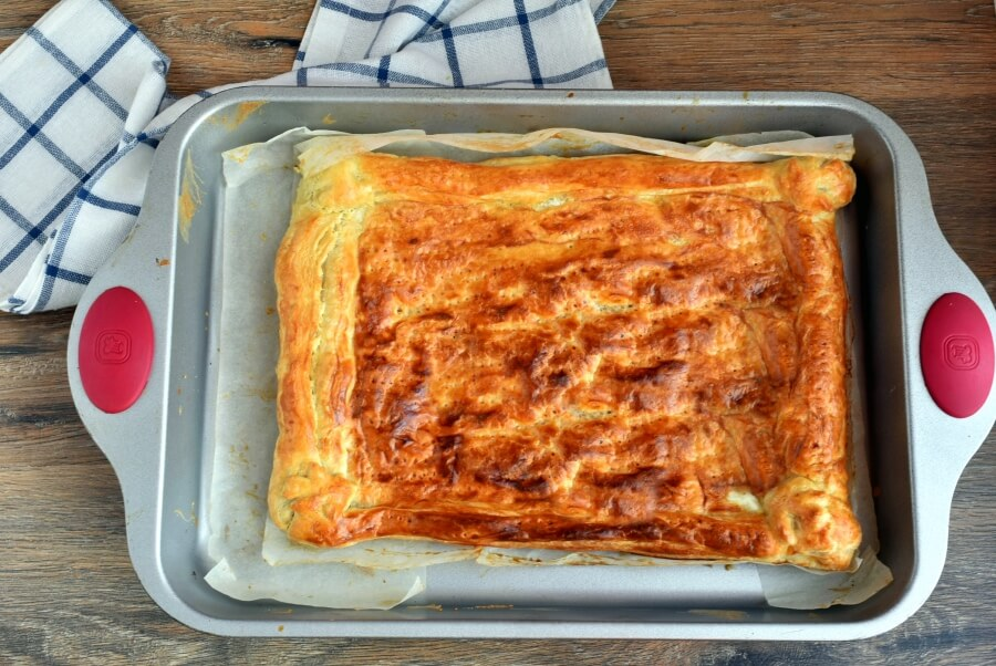 Herbed Ricotta and Fresh Tomato Tart recipe - step 3