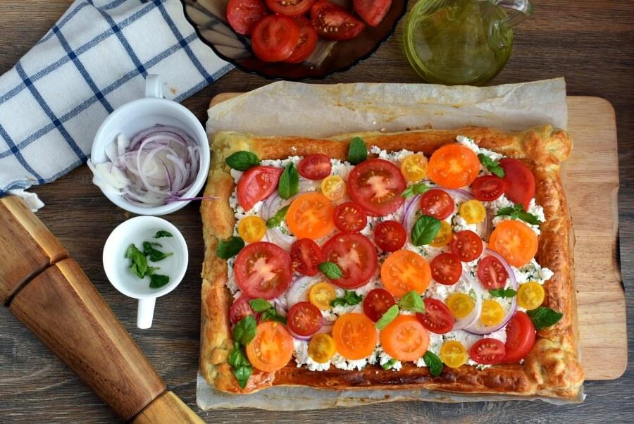 How to serve Herbed Ricotta and Fresh Tomato Tart