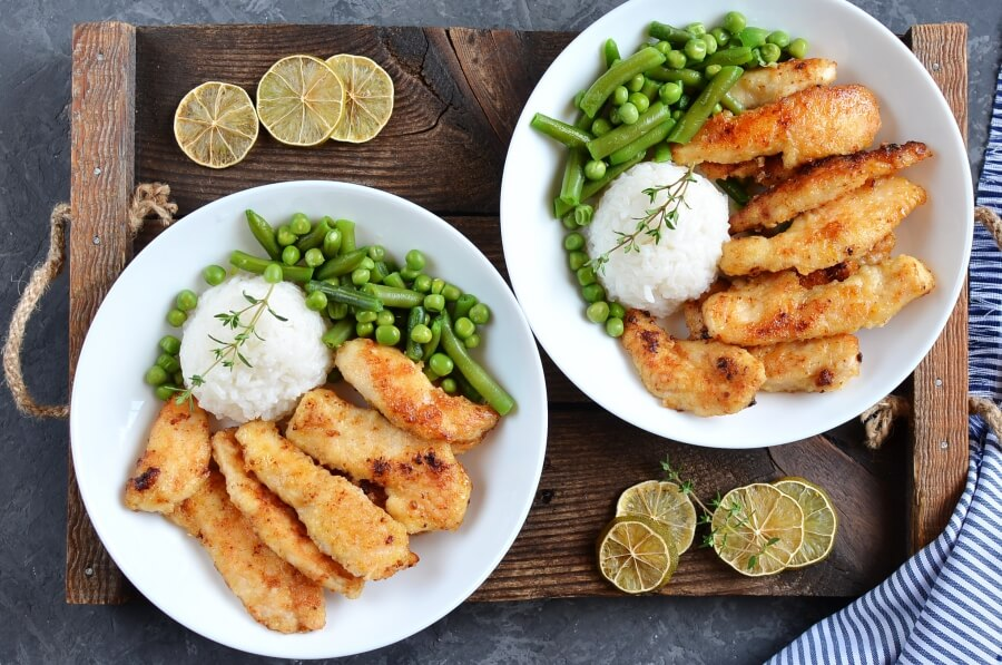 How to serve Honey Lime Chicken