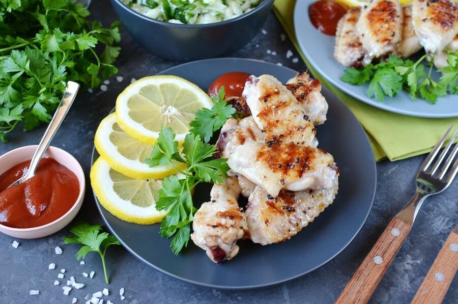 Lemon Dijon Wings Recipe-How To Make Lemon Dijon Wings-Delicious Lemon Dijon Wings