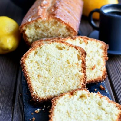 Lemon Drizzle Cake Recipe-How To Lemon Drizzle Cake-Delicious Lemon Drizzle Cake