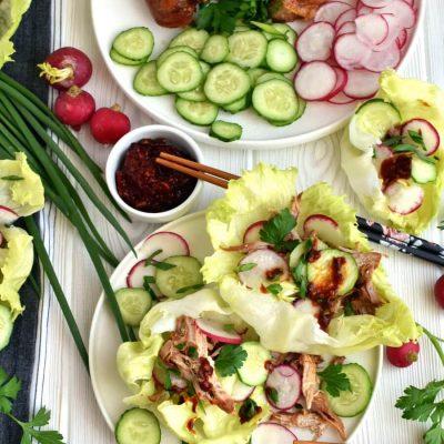 Low Carb Korean Pork Lettuce Wraps Recipe-How To Make Low Carb Korean Pork Lettuce Wraps-Delicious Low Carb Korean Pork Lettuce Wraps