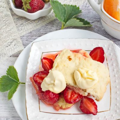 Old-Fashioned Strawberry Shortcake recipe-Grandma's Old-Fashioned Strawberry Shortcake Recipe-Strawberry Shortcake