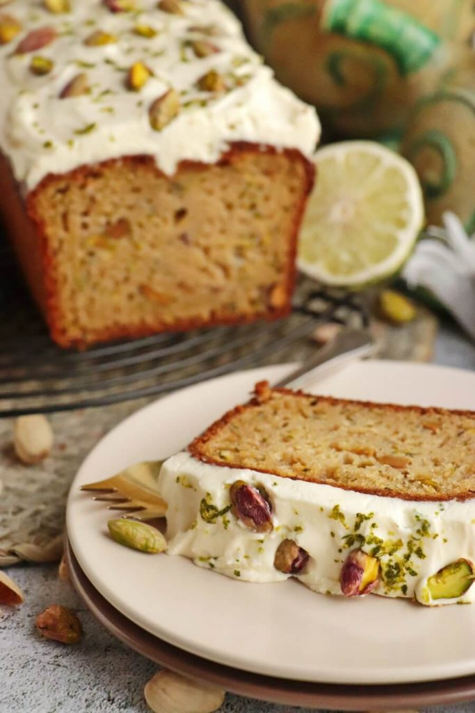 Pistachio, Lime and Zucchini Loaf Recipe-Delicious Ho to Make Pistachio, Lime & Zucchini Loaf-Delicious Pistachio, Lime & Zucchini Loaf
