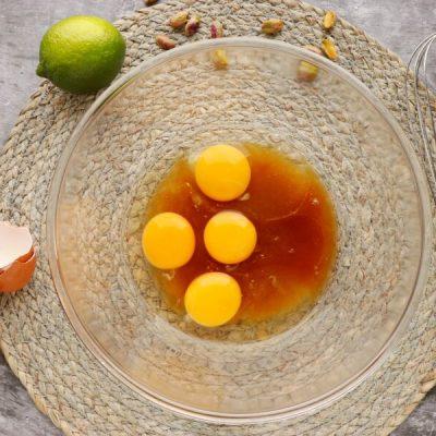 Pistachio, Lime & Zucchini Loaf recipe - step 2