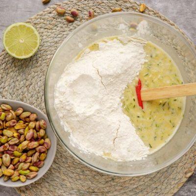 Pistachio, Lime & Zucchini Loaf recipe - step 4