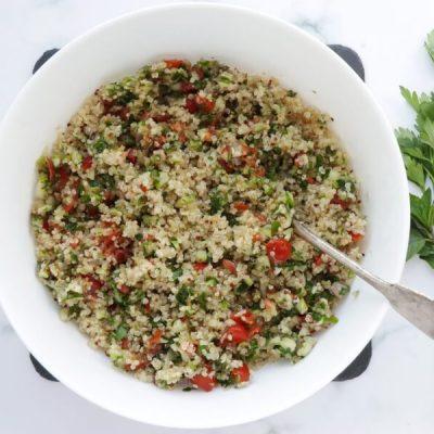 Gluten Free Quinoa Tabbouleh Salad recipe - step 5