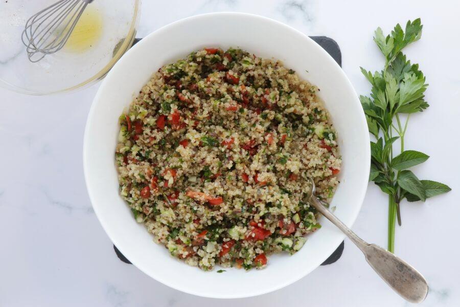 Gluten Free Quinoa Tabbouleh Salad recipe - step 7