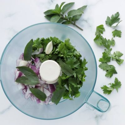 Gluten Free Quinoa Tabbouleh Salad recipe - step 3