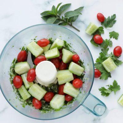 Gluten Free Quinoa Tabbouleh Salad recipe - step 4