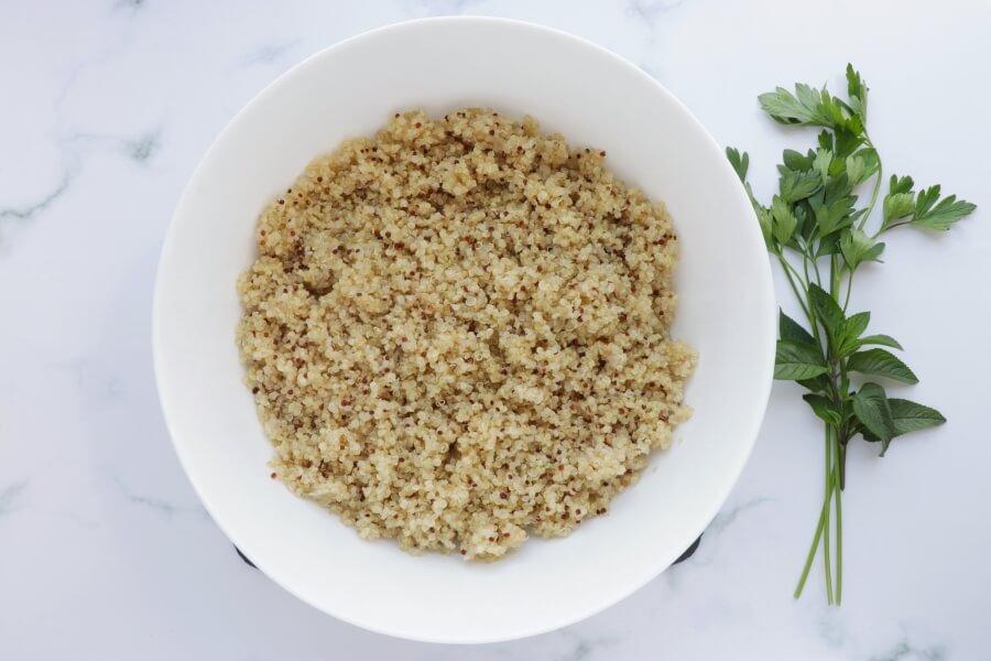 Gluten Free Quinoa Tabbouleh Salad recipe - step 2