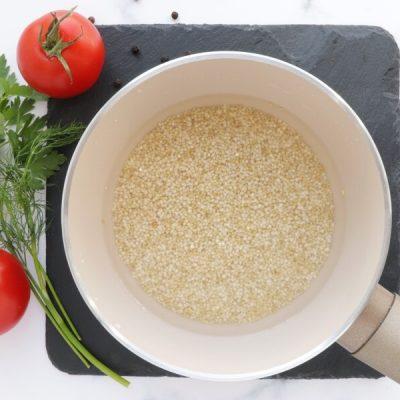Gluten Free Quinoa and Chickpea Stuffed Tomatoes recipe - step 1