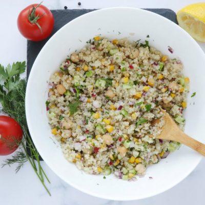 Gluten Free Quinoa and Chickpea Stuffed Tomatoes recipe - step 2