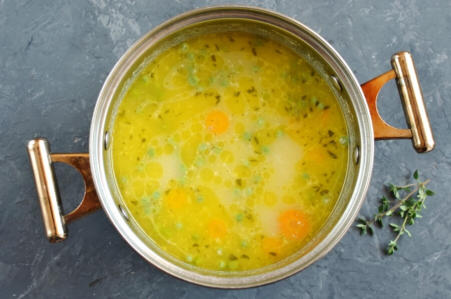 Roast Chicken Soup recipe - step 6