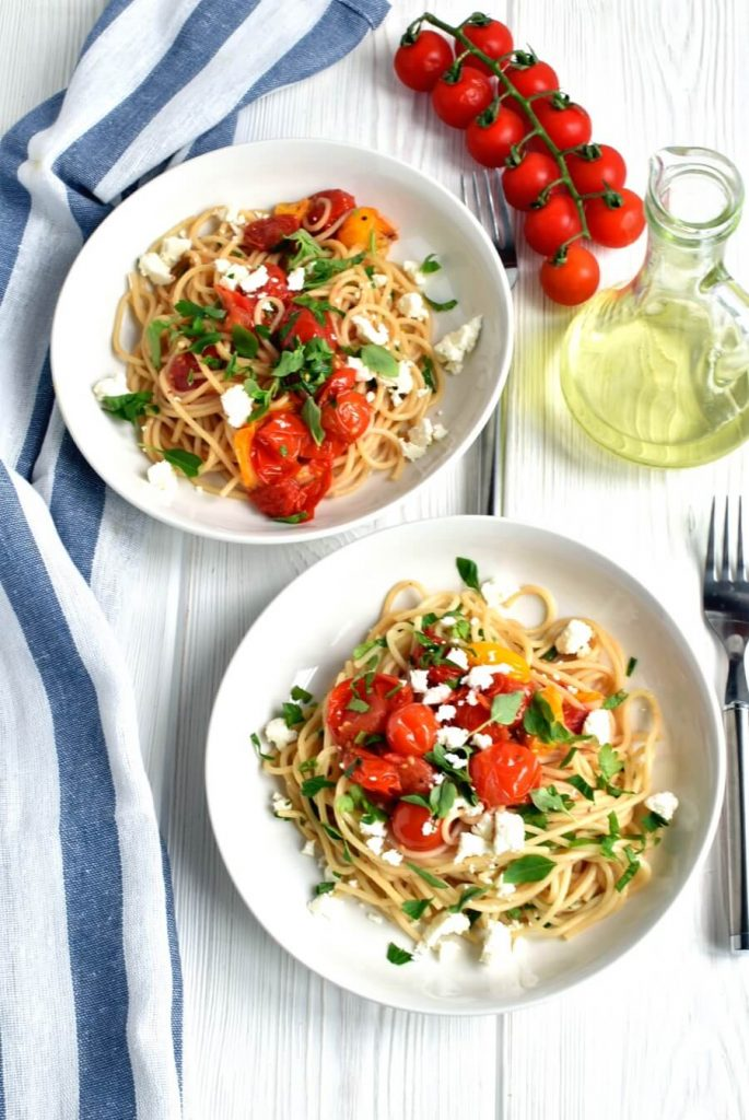 A great way to use cherry tomatoes
