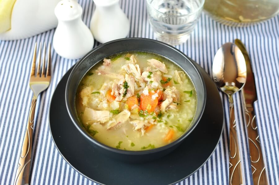 How to serve Simple Chicken Soup