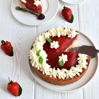 Sky-High Strawberry Pie Recipe-How To Make Sky-High Strawberry Pie-Delicious Sky-High Strawberry Pie
