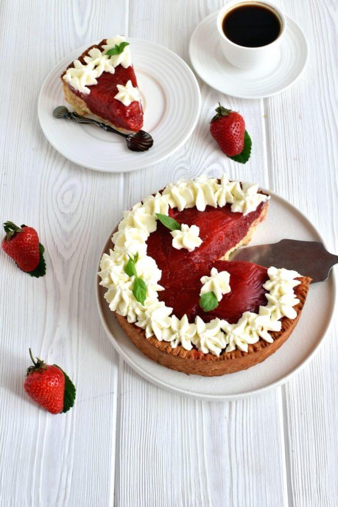The Best Strawberry Pie