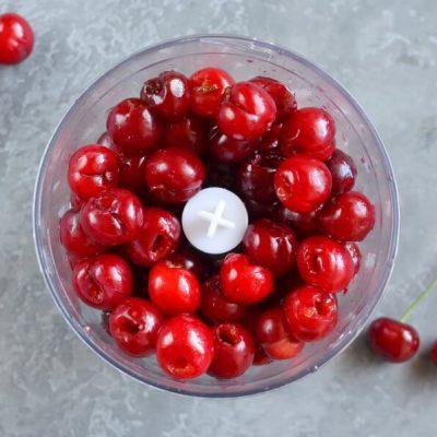 Sour Cherry Sorbet recipe - step 1