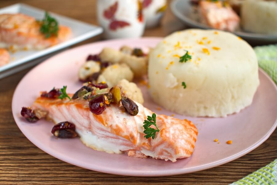 How to serve Soy-Maple Salmon